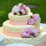 wedding cake cream pie wedding cake