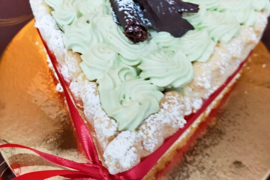 torta-gelato-pisctacchio-e cioccolatotorta-pasticceria-saint-honore